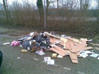 vuilnis op straat